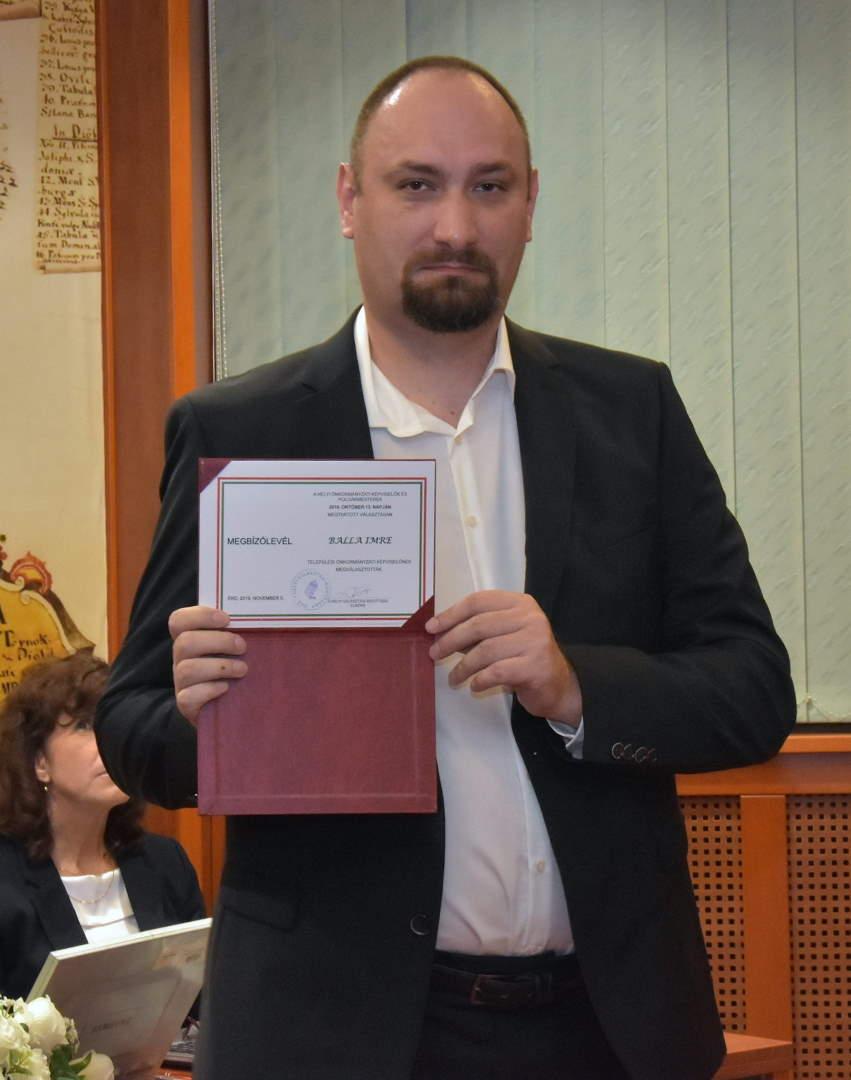 Balla Imre képviselő